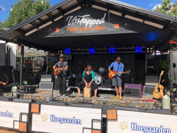 Stella's Way at the Untapped Beer and Music Festival